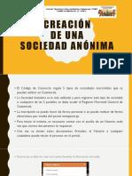 Creación Sociedad Anonima