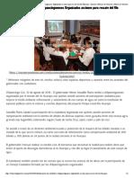 10-08-2018 Platican Héctor Astudillo y Chilpancinguenses Organizados acciones para rescate del Río Huacapa.