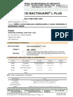 1 - FISPQ - Euroacid Bactiguard L Plus NBR Nv7 0