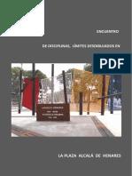 Encuentro de Disciplinas el diseño de una Plaza