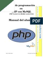 Manual de programación con PHP y MySQL en español