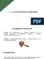 Investigación Transversal y Longitudinal