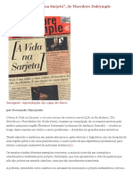 Theodore Dalrymple - Resenha - A Vida Na Sarjeta