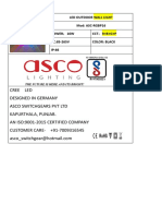 ASCO LED LIGHTING CATALOGUE