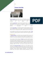 Horizontal Pressure Sand Filter