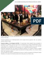 15-08-2018 Guerrero en los primeros de lugares nacionales en producción del campo.