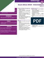 8 Excel 2013 2016 Intermédiaire