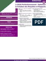 18-Access 2016 Perfectionnement - Optimiser La Création Des Requêtes Et Rapports