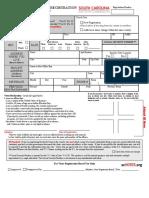 South Carolina Voter Registration Mail Application