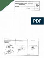 ANT104 Calibraci+¦n y Mantenimiento de Equipos de Monitoreo
