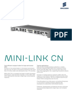 Minilink CN R2 Spesifications