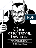 Give the Devil His Due Front Cover