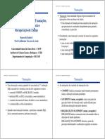 Bd1 Transacao Concorrencia Recuperacao