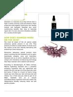 Natural Hydrating Seaweed Toner