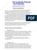 Dieta Macrobiotica de2008a2012