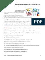 Tema 2. La Empresa. Formas Jurídicas y Principales Obligaciones