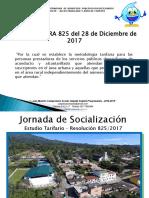 Resolucion 160-2018 Estudio de Costos y Tarifas