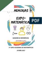 1ra Expo Matemáticas 1