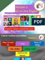 Módulo 6 Inglés/ Unidad 3