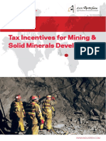 Nigeria - Incentives for Solid Minerals Development