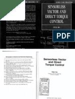 Peter Vas - Sensor Less Vector and Direct Torque Control