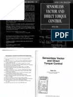 Peter Vas - Sensor Less Vector and Direct Torque Control