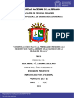 Huanca Aracayo Pedro Felix