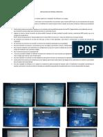 Instalación de Sistema Operativo