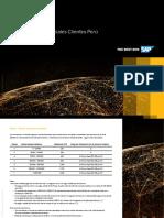 Peru Pricing Sheet