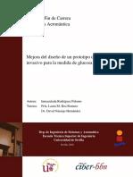 PFC Mejora del diseño de un prototipo de sensor no invasivo para la medida de glucosa en sangre - Inma RodrÃ_guez Palomo