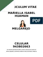 Cv Mariella Huaman