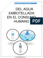 Ph Del Agua Embotellada Bio