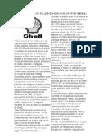 Shell Cronologia