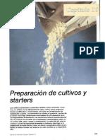 Manual de Industrias Lacteas Capitulo 10 PREPARACIÓN de CULTIVOS