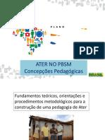 Concepções pedagogicas