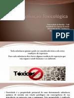 avaliação toxicológica larizza