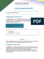 7 Ancho y Alto en CSS