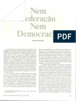 1990 - Nem federacao nem democracia - Florestan Fernandes.pdf