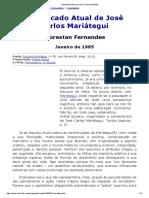 1995 - Significado Atual de José Carlos Mariátegui - Florestan Fernandes - Revista Princípios.pdf