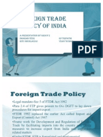 Foreign Trade  Policy-Ppt
