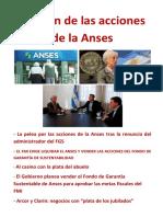 El Botín de Las Acciones de La Anses