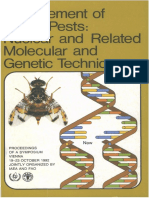 Management of Insect Pests (Nuclear and Related Molecular and Genetic Tecniques) - LIVRO