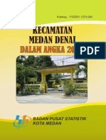 Kecamatan Medan Denai Dalam Angka 2016