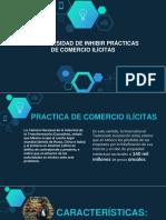 4.2.4 necesidades de inhibir practicas de comercio ilicito