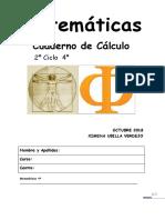 Cuaderno de Cálculo Septiembre 4 Primaria