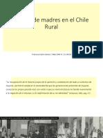 Centros de madres en el Chile Rural
