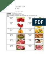 Frutas em chinês.doc