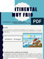 Continental Muy Frio