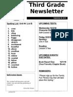 newsletter 9-28-18 list b