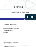 BFC14003 1.3 Separable Equation